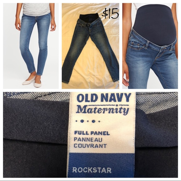 80a0dfa2197 Old Navy Maternity Jeans. M 5bd997aeaa87707bc82f8c61